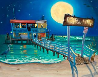 Rod and Reel Pier Full Moon