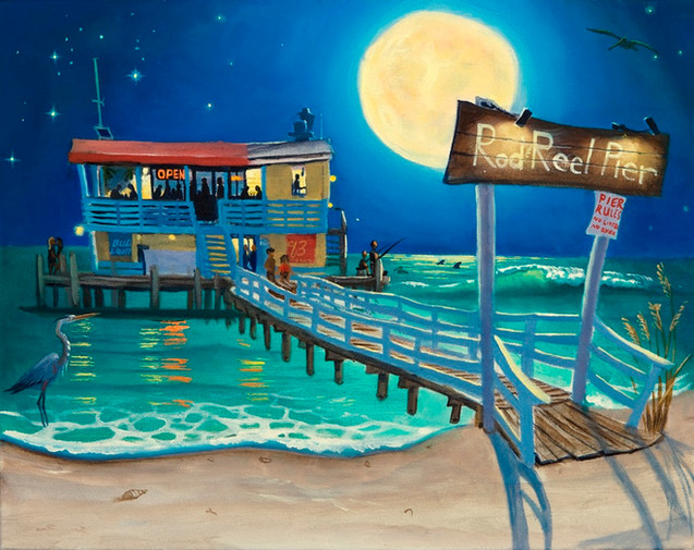 Rod and Reel Pier Full Moon