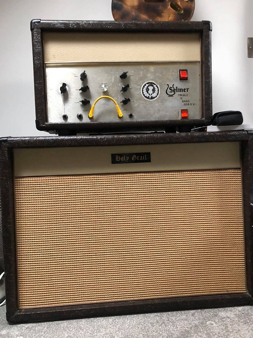 Selmer Treble and Bass 50 RSV and Cab
