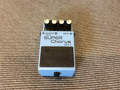 Boss Super Chorus Effects Pedal