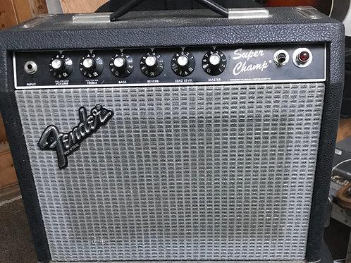 Fender Super Champ Early 1980s Valve Amp Paul Rivera Era