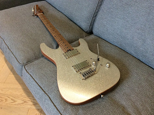 Harley Benton Fusion 2 Customised with Suhr Parts