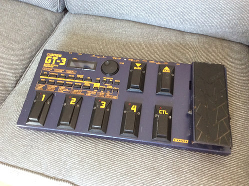 Boss GT3 Multi Effects Guitar Pedal