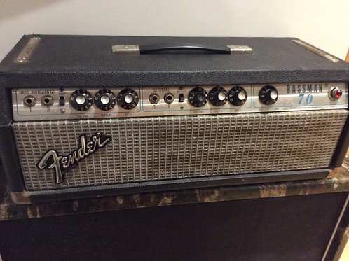 Fender Bassman 70 1970s Valve Amplifier Head