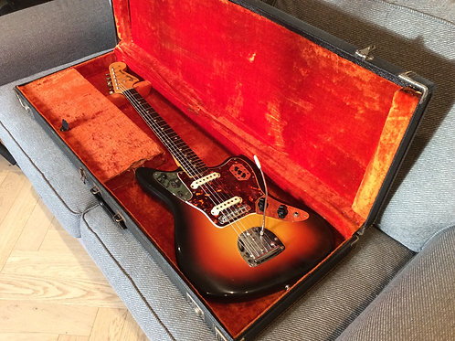 Fender Jaguar 1965 Pre-CBS With Original Hardcase