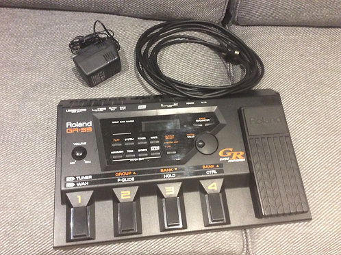 Roland GR33 Guitar Synth Pedal Processor