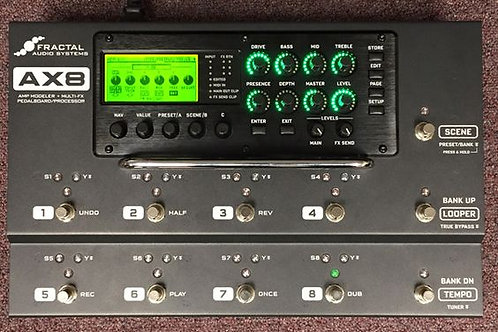 Fractal FX AX8Amp Modeller and FX Unit Rare