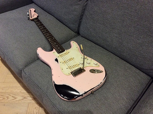 Fender Squier Heavy Relic Custom Build