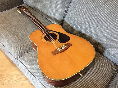 Yamaha FG 312 12 String Acoustic 1970s