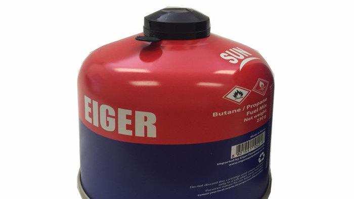 EIGER GAS CARTRIDGE 230G BUTANE/PROPANE SCREW