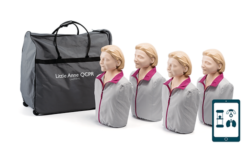Little Anne QCPR 4-pack (Light)