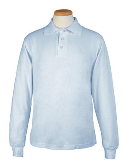 Adult Long Sleeve Polo Shirt