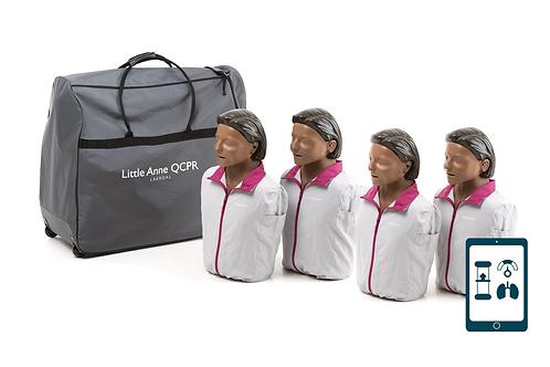 Little Anne QCPR 4-pack (Dark)