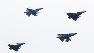 Rafale C / Tornado GR.4 / F16 AM