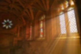 Luz janela na Igreja