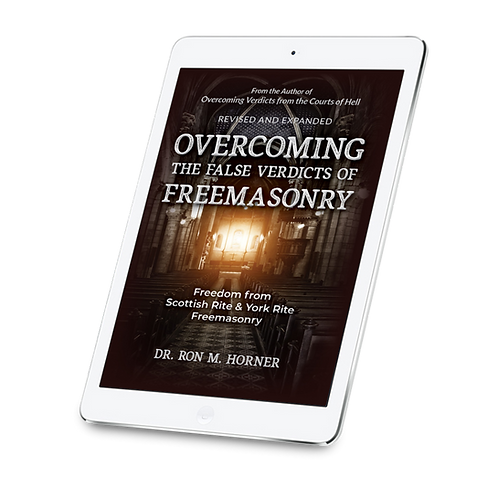Overcoming the False Verdicts of Freemasonry (PDF Edition)