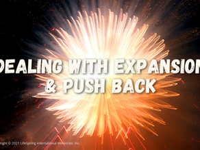 Dealing with Expansion & Push Back