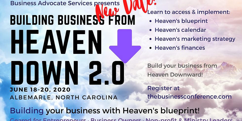 HEAVEN DOWN Business Conference 2.0