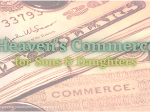 Heaven's Commerce for Sons & Daughters