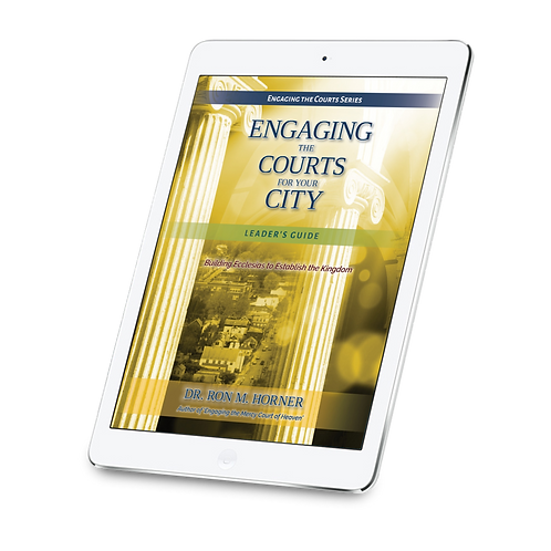 Engaging the Courts for Your City - Leader's Guide (PDF Edition)