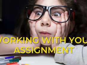Working with Your Assignments