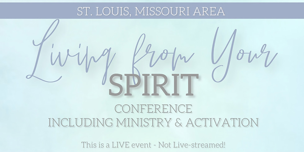 SOLD OUT: Living from Your Spirit