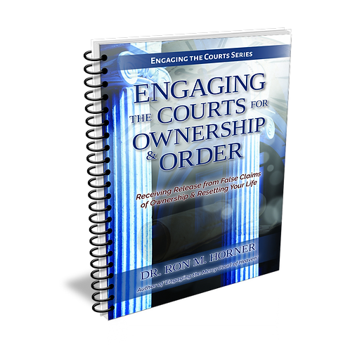 Engaging the Courts for Ownership & Order (Spiral Edition)
