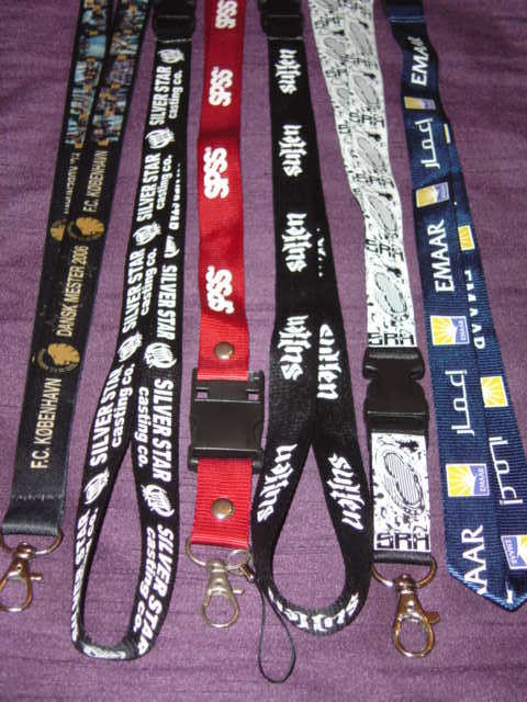 VARIOUS LANYARDS