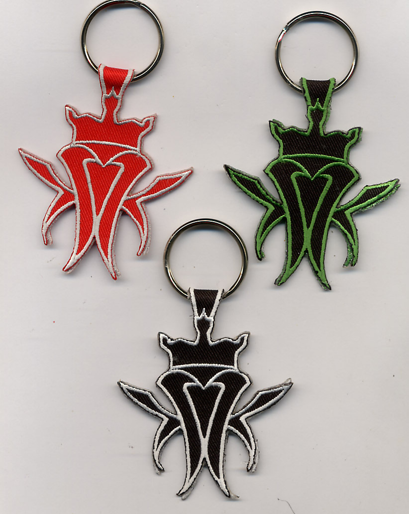 WAX CUT PATCH KEYCHAINS