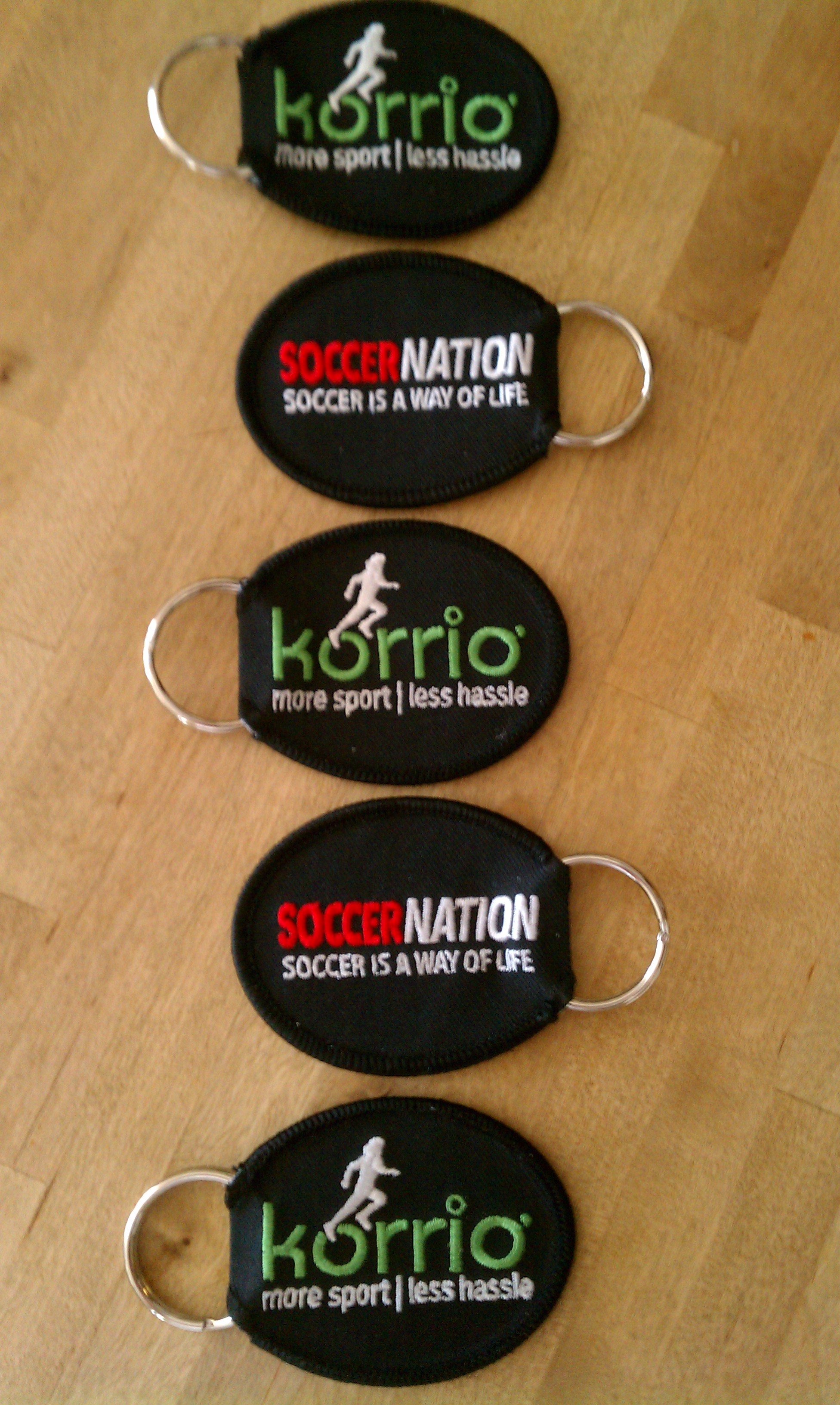 PATCH KEYCHAINS