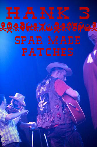 SPAR MADE BAND PATCHES