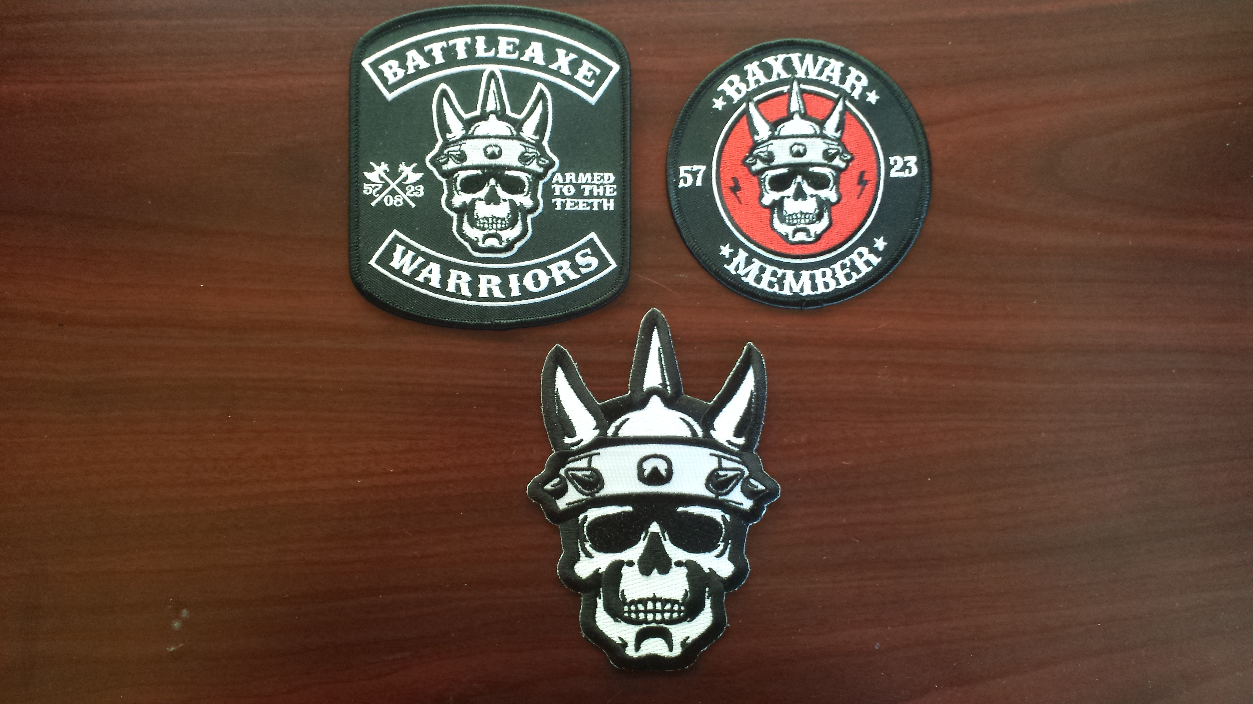 BAND MERCH PATCHES