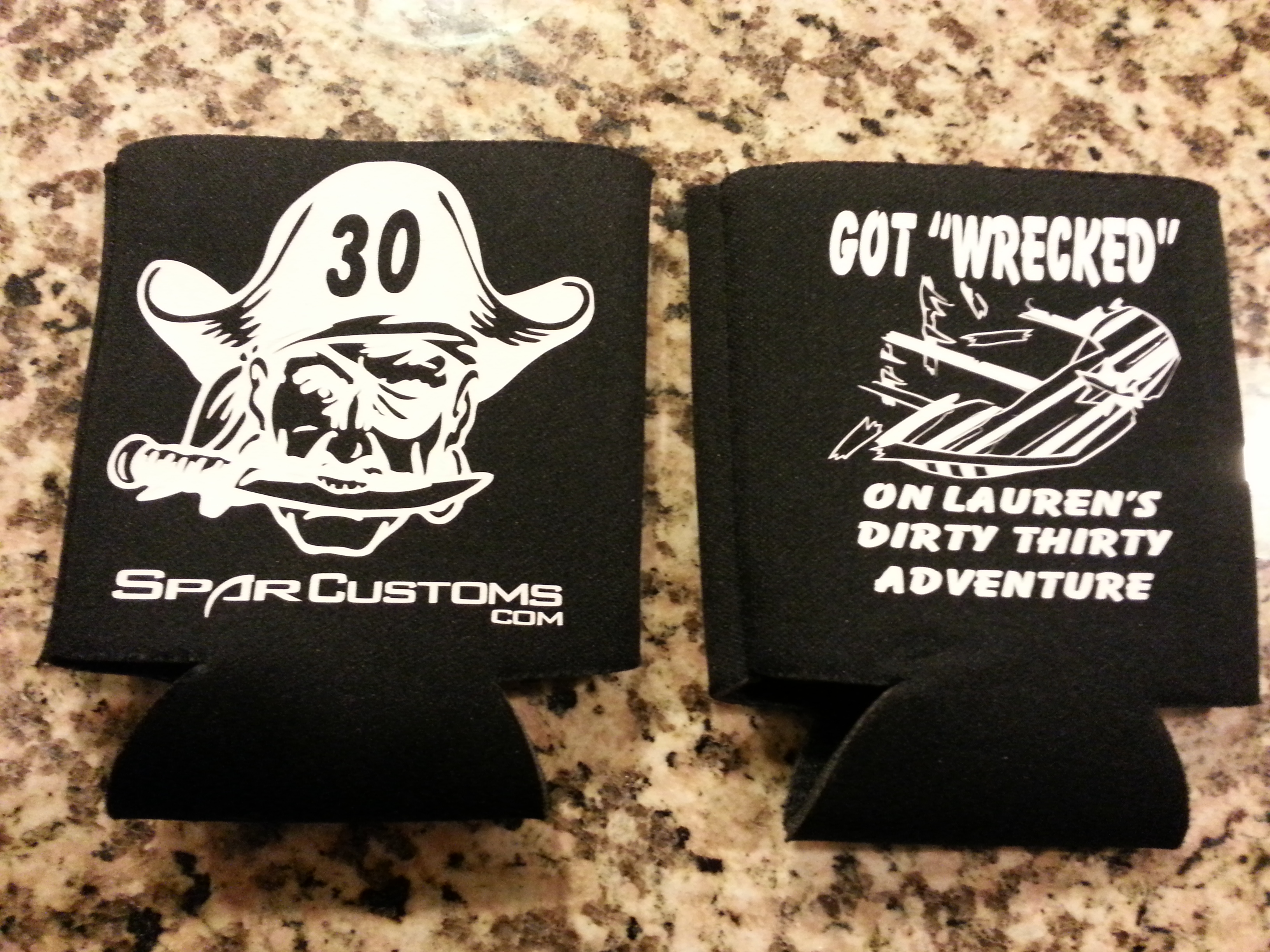 30TH BDAY COOZIES