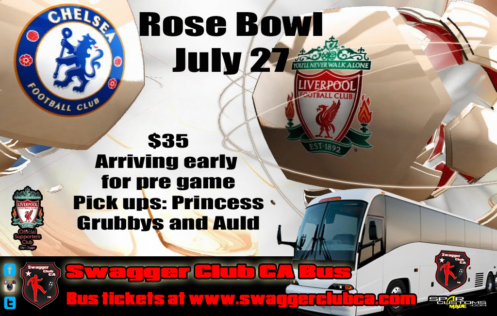 swagger bus liverpool v chelsea rose bowl