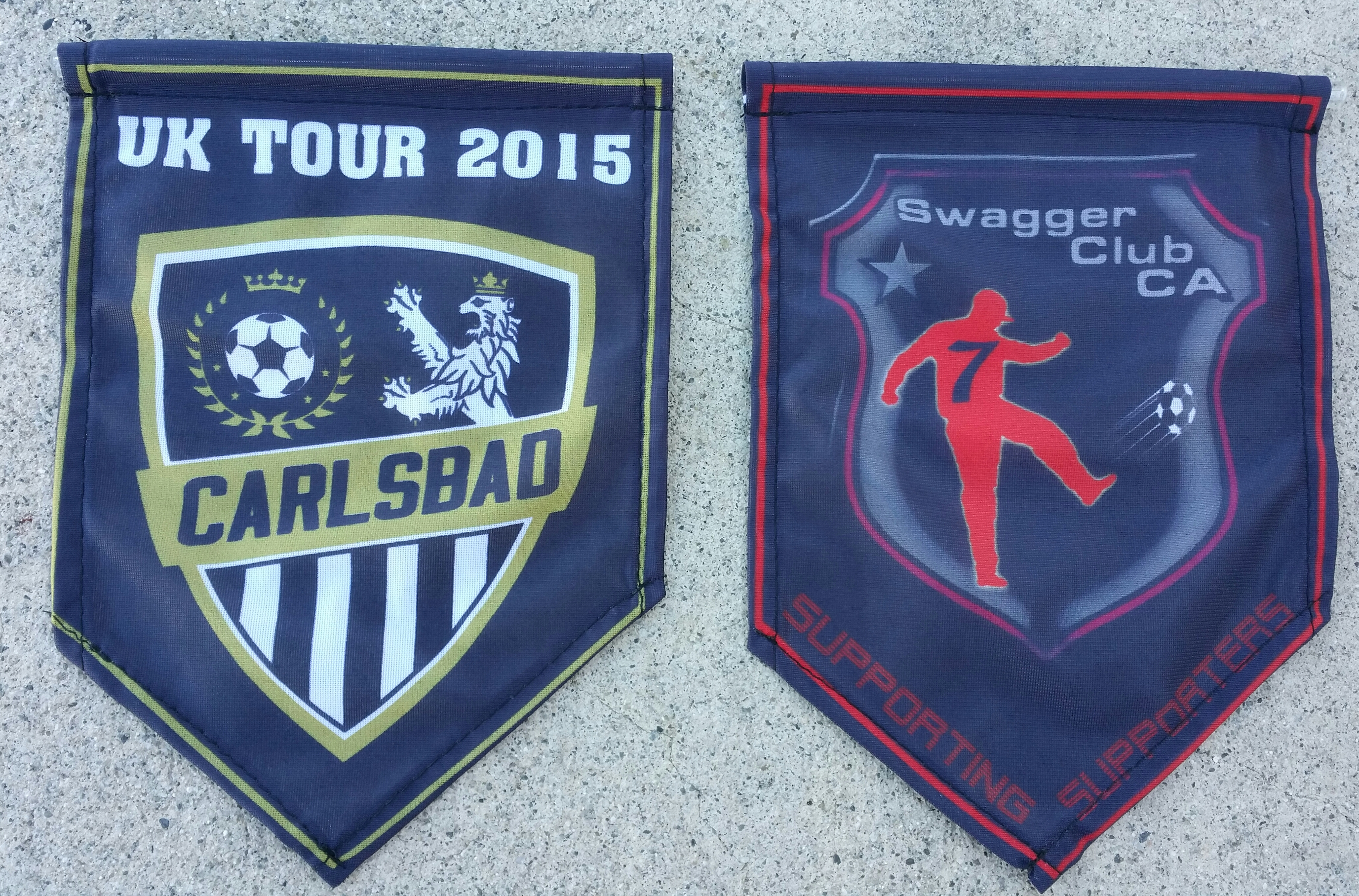 SUBLIMATED HANG SHIELDS