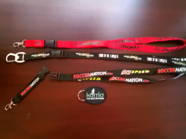 DETACHABLE KEYCHAIN LANYARDS