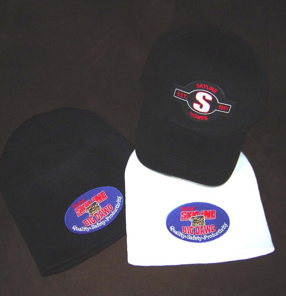 BUSINESS HATS BEANIES W PATCHES