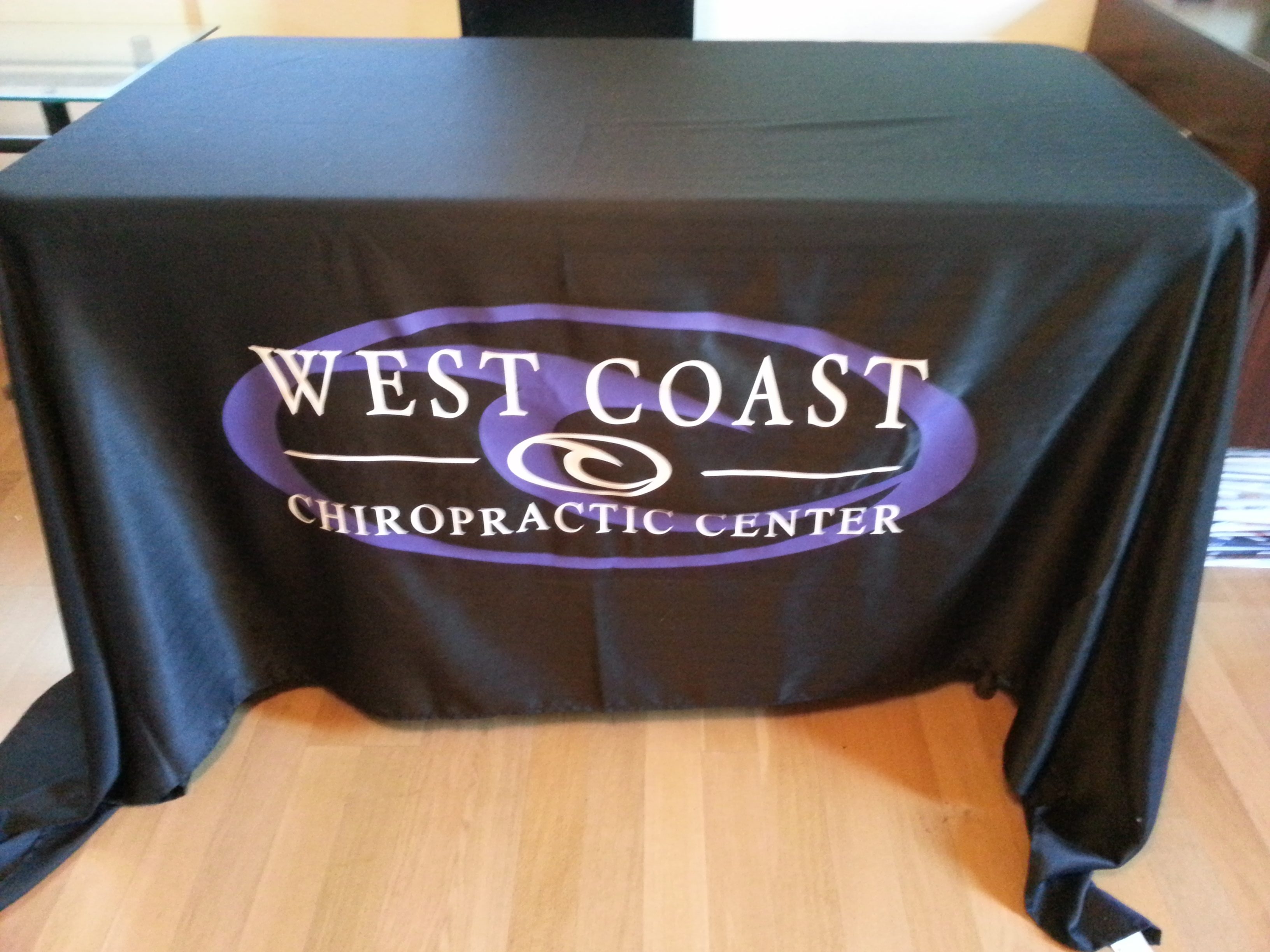 BOOTH TABLE COVERINGS