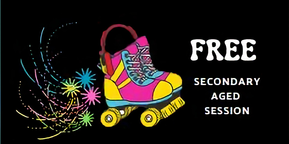 School Holidays Rollerskating - Secondary Aged Session