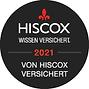 Siegel der Hiscox-Versicherung