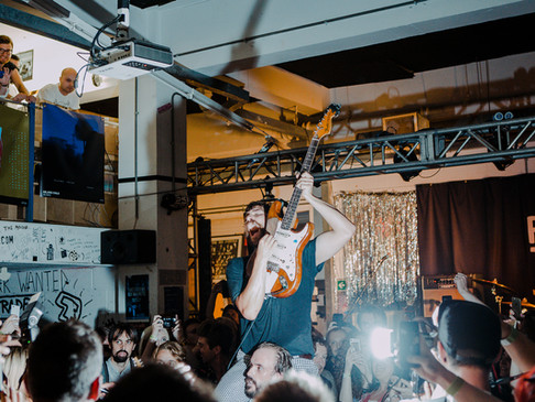 Idles live and signing at Rough Trade East