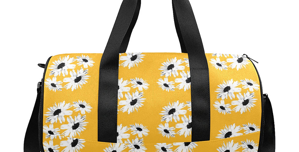 Bunch of Daisies Yellow - Gym / Workout / Camping / Travel Duffel Bag