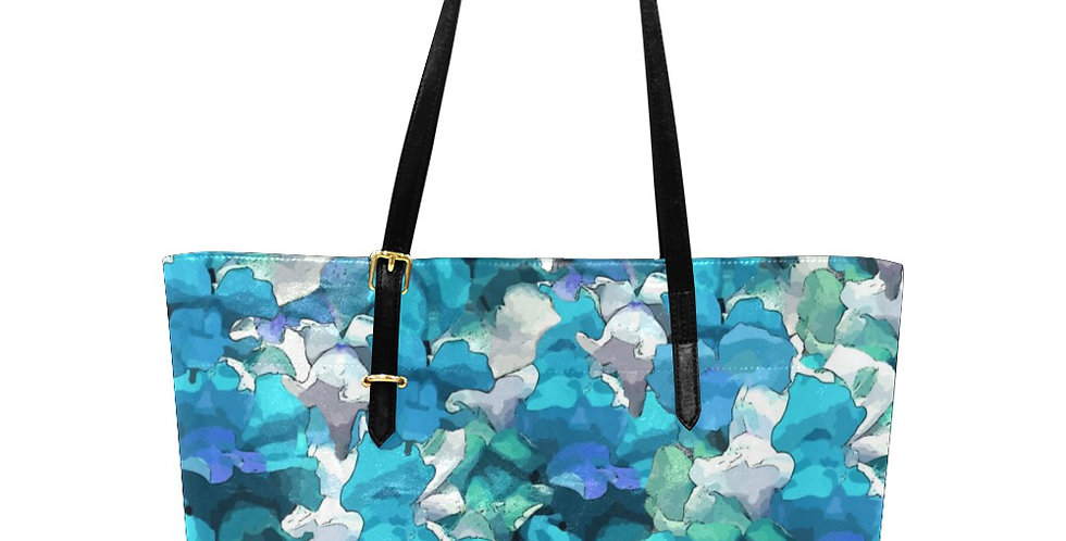 Snappy Blue - Large Tote Bag