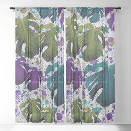 monstera-teal-purple-green-sheer-curtain
