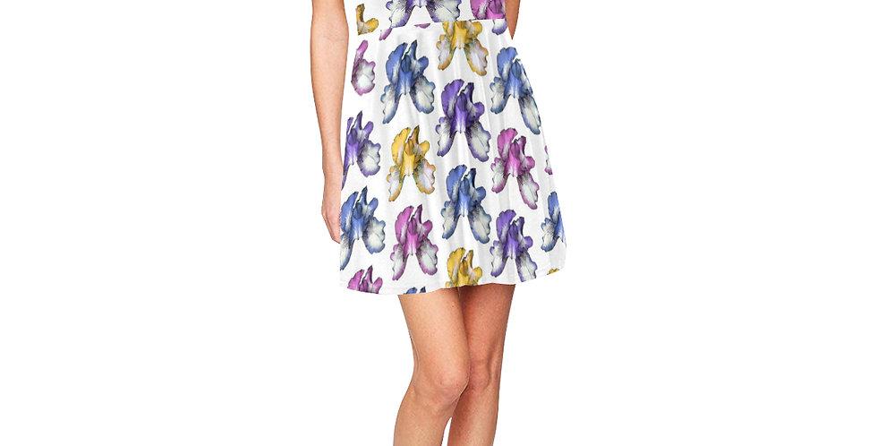 Rainbow Iris - Skater Dress