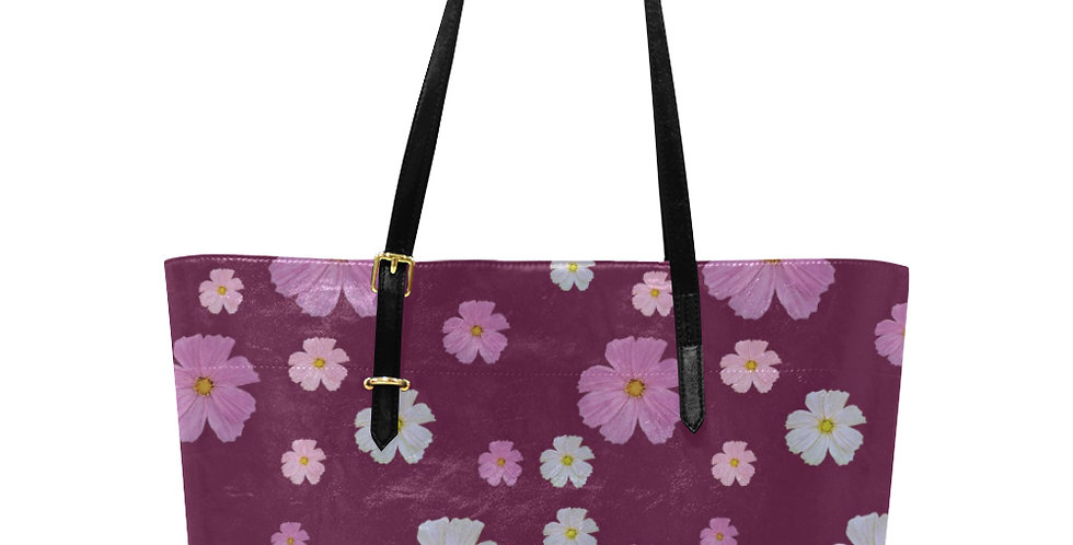 Cosmos & Wine - Large Tote Bag