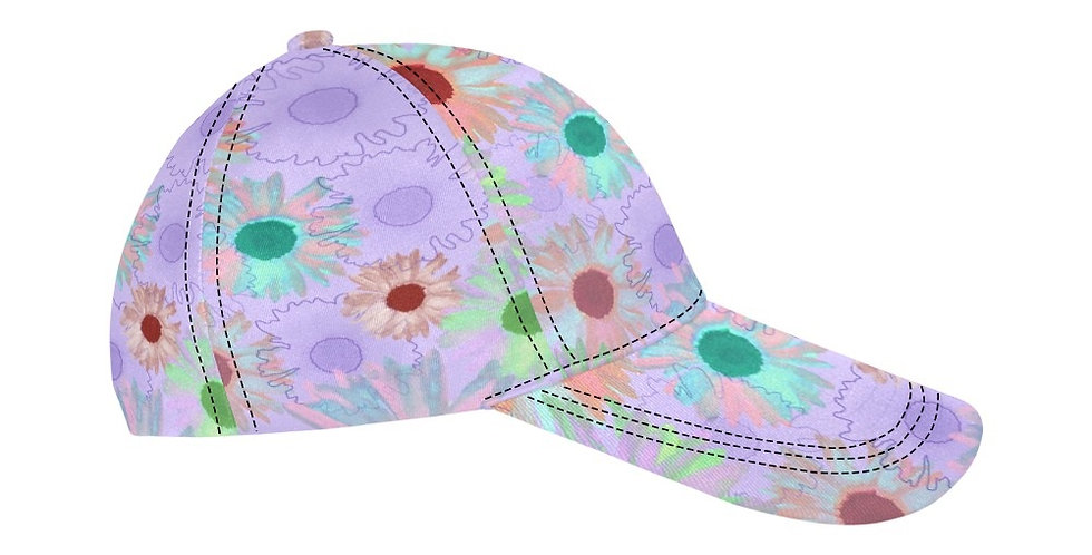 Wildflower Soft Mauve - Baseball Cap