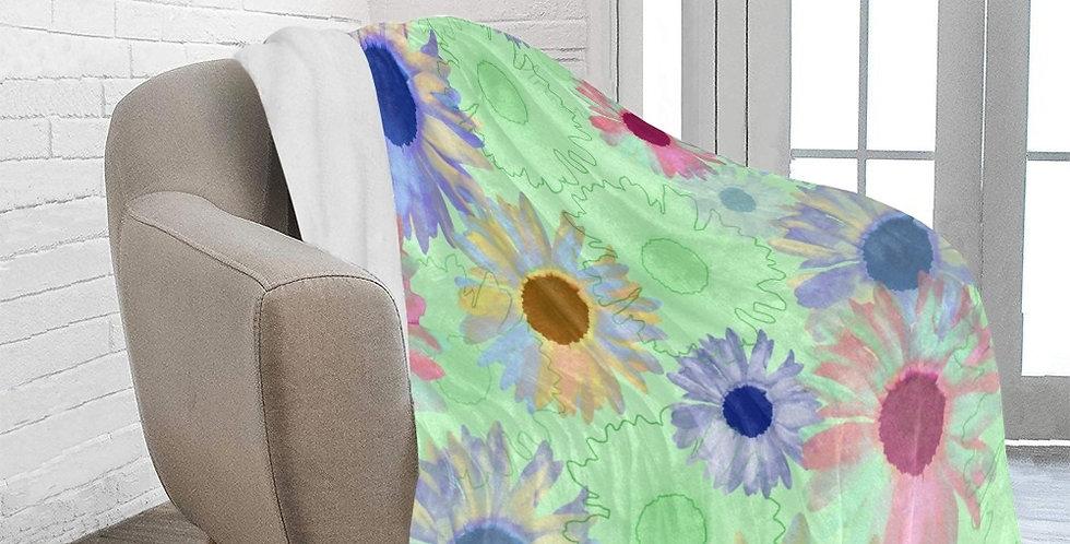 Wildflower Mint Green - Blanket