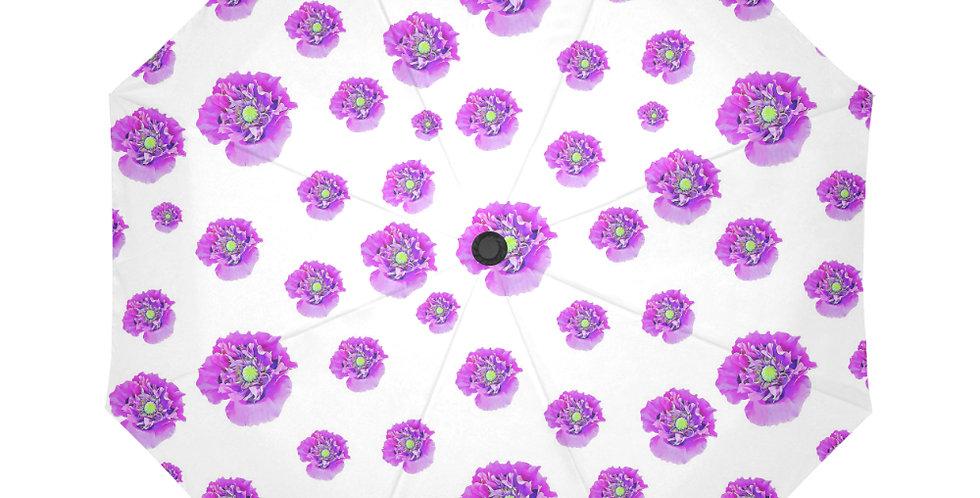 Pink Poppies - Botanical Umbrella