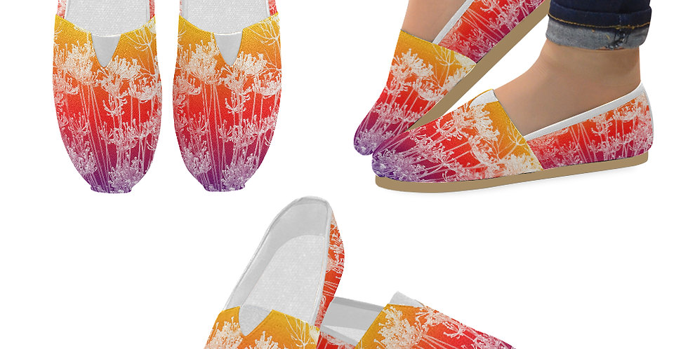 Bright & Bold - Slip On Canvas Shoes